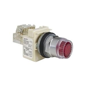 Square D 9001K1L5RH13 PUSH BUTTON 600VAC 10A 30MM T-K
