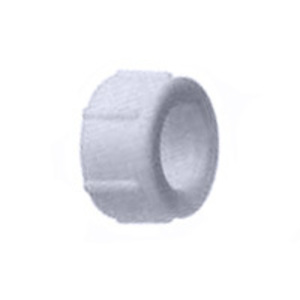"Arlington RGD150 Conduit Bushing, 1-1/2"", Press-on, Insulating, Threadless, Non-Metallic"