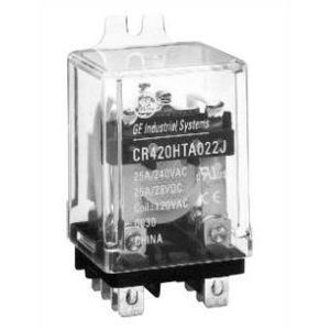 GE CR420JPL033J Relay, Ice Cube, 3PDT, 13A, 120VAC Coil, 11 Blade, Plug-In