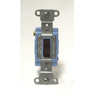 18203-B BR SW TGL FLUSH 3W 15A347VAC
