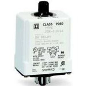 Square D 9050JCK11V20 Relay, Timer, 10A, 240VAC, 120VAC Coil, 8 Pin, 2PDT, On-Delay