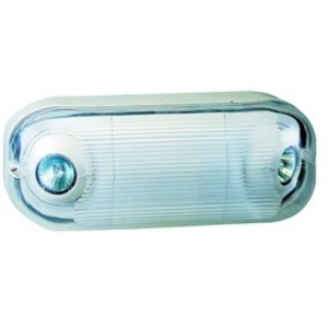 RP Lighting REL9LED-W-E LED Emergency Lighting Unit, Thermoplastic *** Discontinued ***