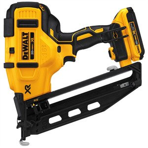 DEWALT DCN660D1 20V MAX* XR® 16 GA Angled Finish Nailer Kit