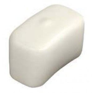 Garvin Industries SFEC08 END CAP 13/16IN WHITE