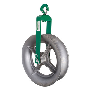 """Greenlee 652 Sheave-cable 18"""" Hook Type (652)"""