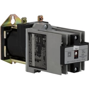 Square D 8501XDO80XDLV62 Relay, Control, 10A, 600VAC, 115/125VDC Coil, 8P, NO Contacts, Latching