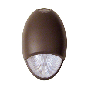 Mule MAKO-3-DB Architectural Emergency Light Fixture, 2-6V, 6W Xenon Lamps