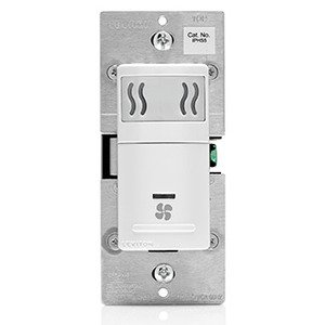 Leviton IPHS5-1LW Humidity Switch, White