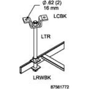 nVent Hoffman LRWBK Runway Bracket (qty 10)
