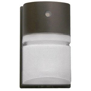 Hubbell - Lighting NRG-204B-PC Wallpack, Compact Fluorescent, 1 Light, 42W, 120-277V, Bronze