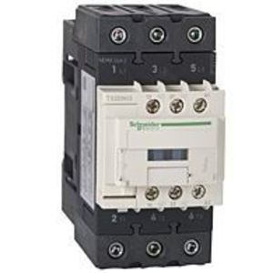 Square D T02DN13G7 Contactor, Tesys N, Size 2, 45A, 600VAC, 120VAC Coil, FVNR