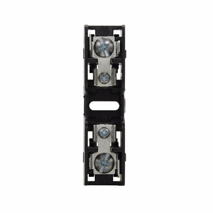 Eaton/Bussmann Series BMM603-1SQ Fuse Block, 1P, 30A, 600V AC/DC, 10 x 38mm, Quick Connect, 200kAIC