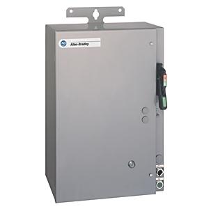 Allen-Bradley 1232X-BNB-A1G-24R Pump Panel, NEMA 1, 27A, 480VAC Coil, Disconnect Switch, NEMA 3R