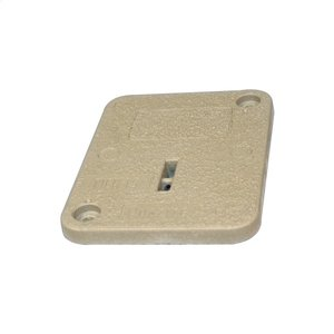 "Hubbell-Quazite PC1212CA0017 Cover for Stackable Box, Bolt Down, 12 x 12"", Polymer Concrete"