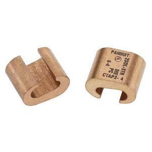 Panduit CTAP4-8-L Copper Compression CTAP's, Heavy Duty, #