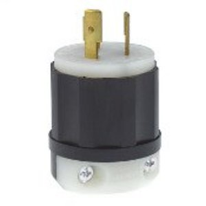 Leviton 2361 Locking Plug, 20A, 125/250V, 3P3W