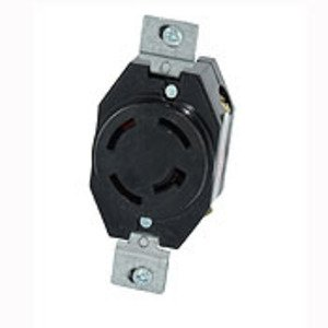 Leviton 7410-BG 20A 250V LOCKING RECEPTACLE