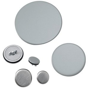 """Hoffman AS125LG Hole Seal, Size: 1-1/4"""", Material/Finish: Steel/Gray Powder Coat"""