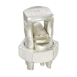 Panduit SBCT3/0-Q Split Bolt, Copper, Tin Plated, #1 STR -
