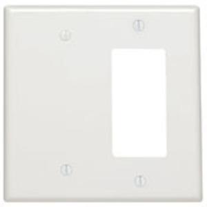 80608-T LT ALM WALLPLT 2G BLNK/DEC MID