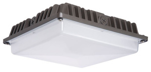 Stonco GC57-NW-G1-SM-5-8-BZ LED Canopy Light, 57W/6300L/4000K
