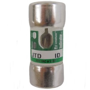 Littelfuse JTD040ID Fuse, 40A, 600VAC, Class J Time Delay