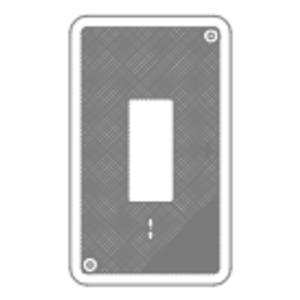 """Oldcastle Precast 1004700 Cover, 23-1/4"""" x 13-3/4"""", Legend: ELECTRIC, Concrete"""