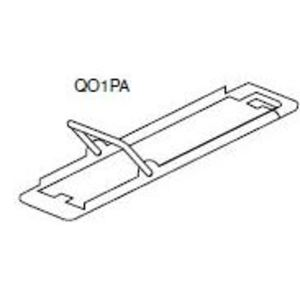 Square D QO1PA Breaker, Handle Padlock Attachment, Fixed, Type QO