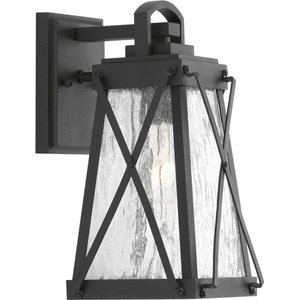 Progress Lighting P560031-031 1-Lt. Black Small Wall-Lantern