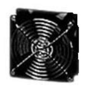 "Hoffman A4AXFN Axial Fan, Compact, 4"", 115VAC, 50/60Hz, Black"