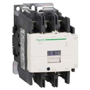 Square D LC1D80G7 Contactor, Definite Purpose, 80A, 3P, 600VAC, 300VDC, 120VAC Coil