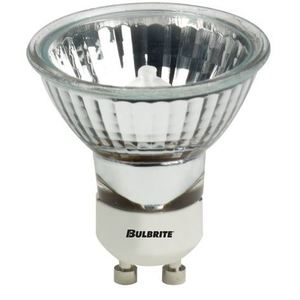 Bulbrite EXN/GU10/FR Halogen Lamp, MR16, 50W, 120V, FL36