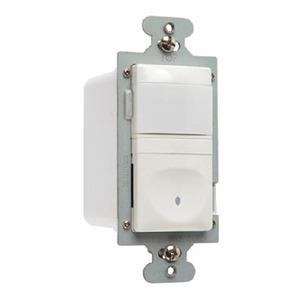 Pass & Seymour RWU600B-WCC4 120V Single Pole Vacancy Sensor, White
