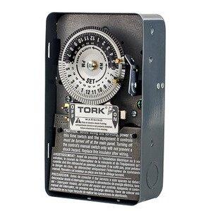 NSI Tork 1103B Mechanical Timer, 24 Hour, DPST, NEMA 1, 40A, 120V