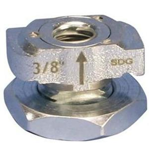 """nVent Caddy CRLS37EG Caddy Rod Lock Channel Nut, 3/8"""""""