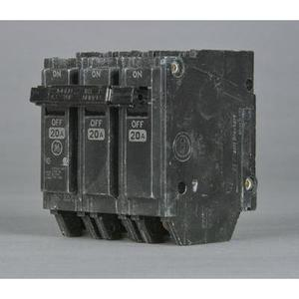ABB THQL32020 Breaker, 20A, 3P, 120/240V, 10 kAIC, Q-Line Series
