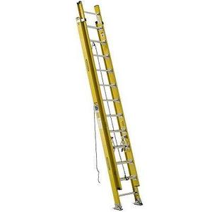Werner Ladder D7124-2 24' D-Rung Extension Ladder, Type IAA, 375 lbs