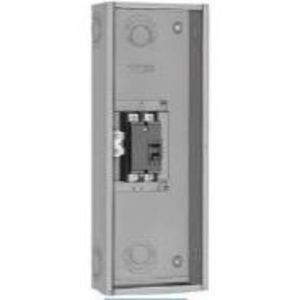 Square D Q22200NS Breaker Enclosure, 100-200A, 2P, Type Q, 240VAC, NEMA 1