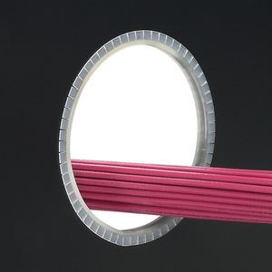 Panduit GEE36F-C Grommet Edging, Slot 100', Poly, Natural