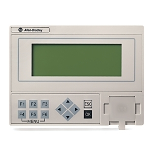 "Allen-Bradley 2080-REMLCD Interface Module, Micro800, 3.5"" Remote, LCD Display Module"