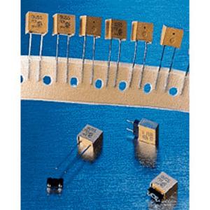 Eaton/Bussmann Series PCC-3-R Fuse, 3A, 250VAC, 450VDC, Printed Circuit Board, Short Lead