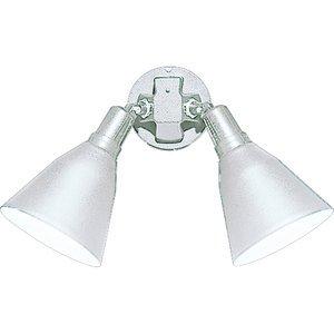 Progress Lighting P5203-30 Floodlight, Swivel, 2 Lamp, PAR 38