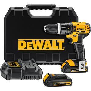 DEWALT DCD785C2 20V Cordless Max Hammer Drill