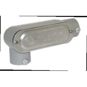 """Bizline BZLCOLR5CG Conduit Body, LR, 1-1/2"""", Aluminum, Threaded/Set-Screw"""