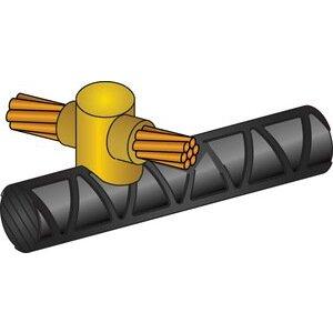 Erico Cadweld RDH552Q Mold,cable To Rebar,horz X