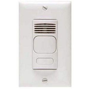 Hubbell-Kellems AD1277W1 Occupancy Sensor, Dual Technology, Wall Mount, 180°, White *** Discontinued ***
