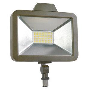 SYLVANIA SLMFLD1A/020UNVD840/WF/BZ/D LED Slim Floodlight, 20W, 4000K, 2200 Lumen, 120-277V