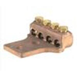 """NSI Tork TL500 500 Mcm - 4/0 Awg Copper Terminal Lug W/ (1) 1/2"""" Mtg Hole"""