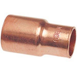 NIBCO 9008000 6002 1/2X3/8 FTGXC FTG RED WROT
