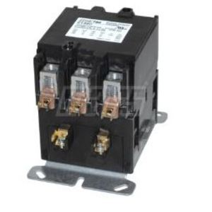 Mars 61492 Contactor, Definite Purpose, 90A, 600VAC, 208-240VAC Coil, 3PH, 3P